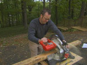 Подготовьте детали для деревянного фундамента