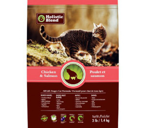 Holistic Blend Feline Formula All Life Stages Chicken & Salmon