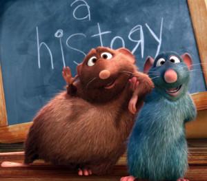 Картинка с крысой Реми из мультика