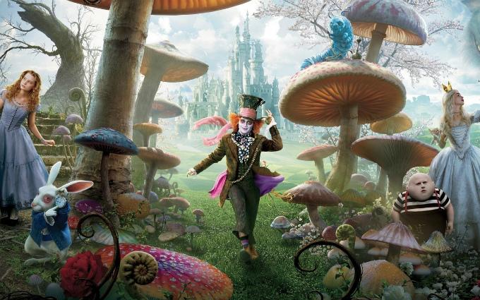 Постер Алисы в стране чудес