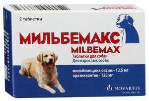 Мильбемакс для собак и щенков: инструкция по применению ...