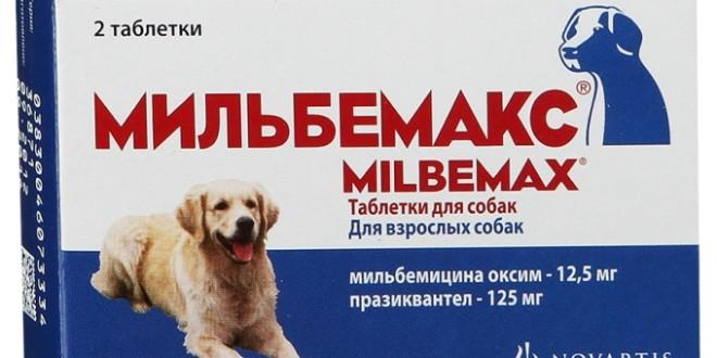 Мильбемакс — глистогоним собак и щенков